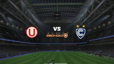 Photo of Live Streaming  Universitario vs Cienciano del Cusco 9 Agustus 2021