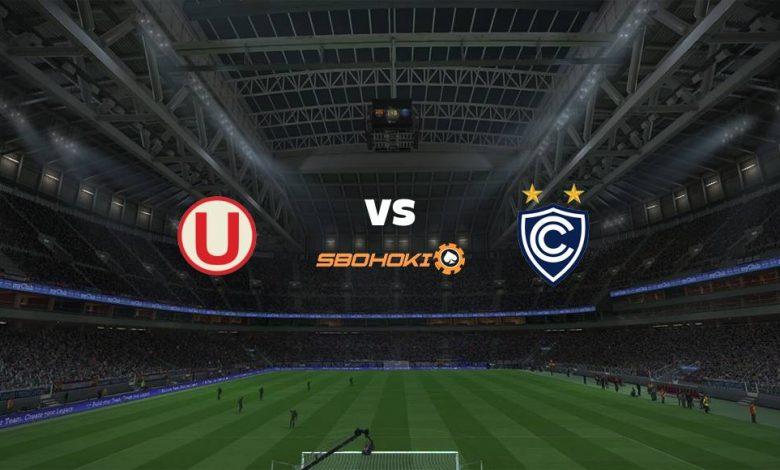 Live Streaming  Universitario vs Cienciano del Cusco 9 Agustus 2021 1