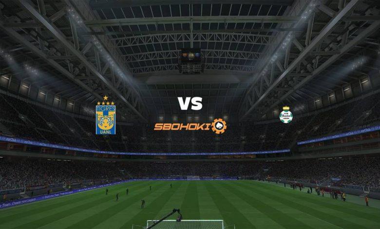 Live Streaming  Tigres UANL vs Santos Laguna 8 Agustus 2021 1