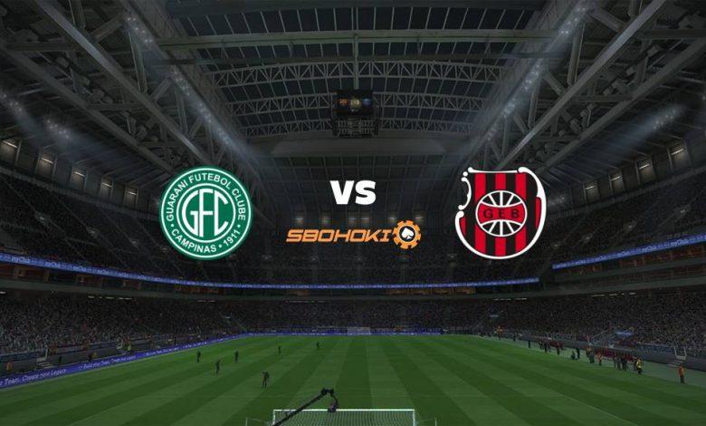 Live Streaming  Guarani vs Brasil de Pelotas 6 Agustus 2021 1