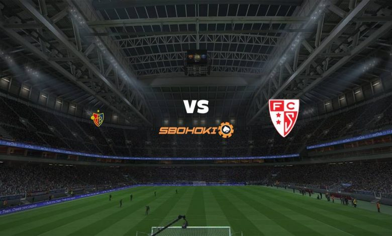 Live Streaming  FC Basel vs FC Sion 1 Agustus 2021 1