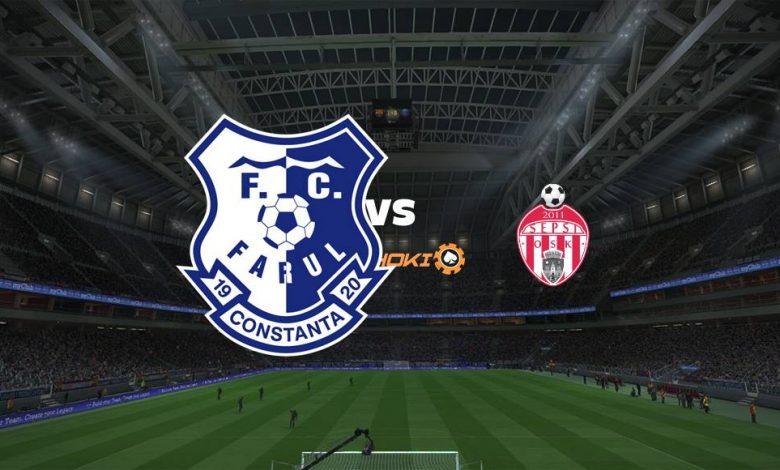 Live Streaming  FC Farul Constanta vs Sepsi Sfantu Gheorghe 9 Agustus 2021 1