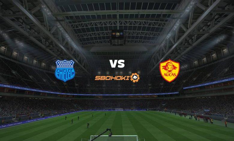 Live Streaming  Emelec vs Aucas 2 Agustus 2021 1