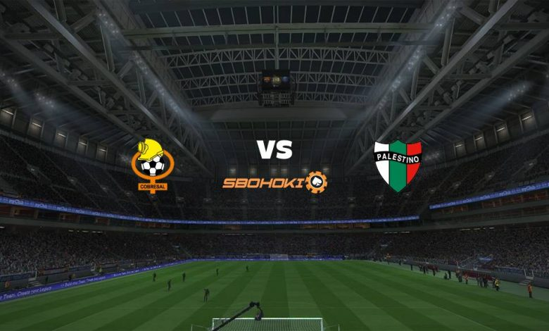 Live Streaming  Cobresal vs Palestino 9 Agustus 2021 1
