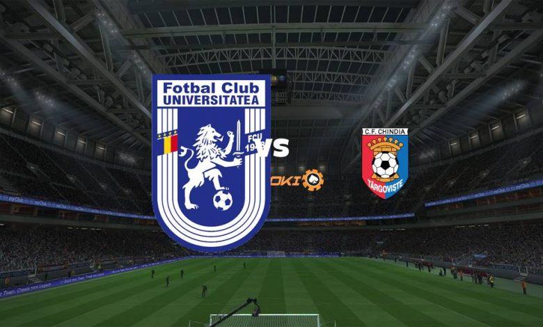 Live Streaming  U Craiova 1948 vs Chindia Targoviste 14 Agustus 2021 1