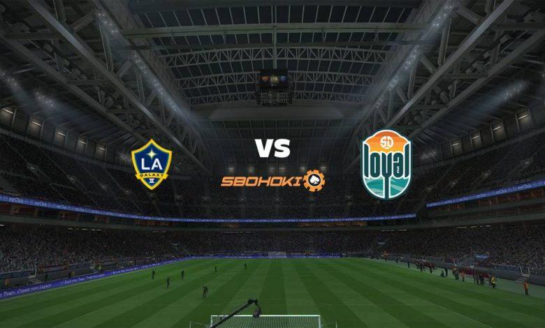 Live Streaming  LA Galaxy II vs San Diego Loyal SC 2 Agustus 2021 1