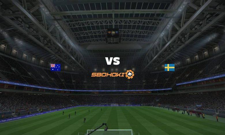 Live Streaming  Australia vs Sweden 2 Agustus 2021 1