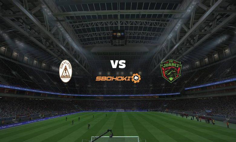 Live Streaming  Atlas vs FC Juarez 1 Agustus 2021 1
