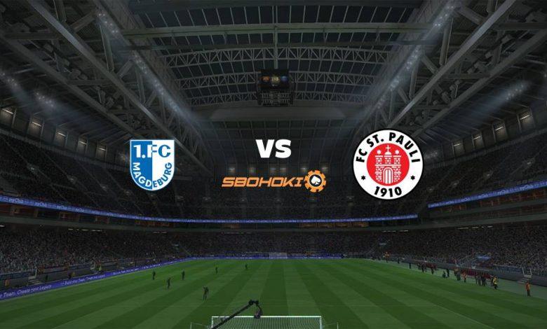 Live Streaming  1. FC Magdeburg vs St Pauli 7 Agustus 2021 1