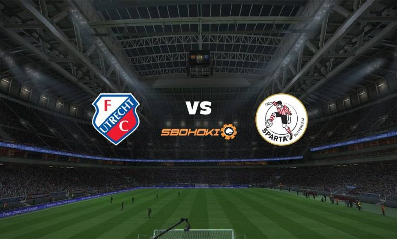 Live Streaming  FC Utrecht vs Sparta Rotterdam 15 Agustus 2021 1