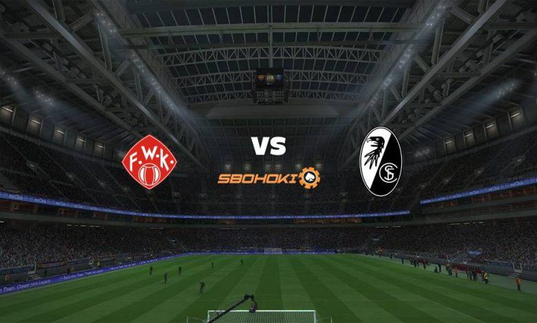 Live Streaming  Würzburger Kickers vs SC Freiburg 8 Agustus 2021 1