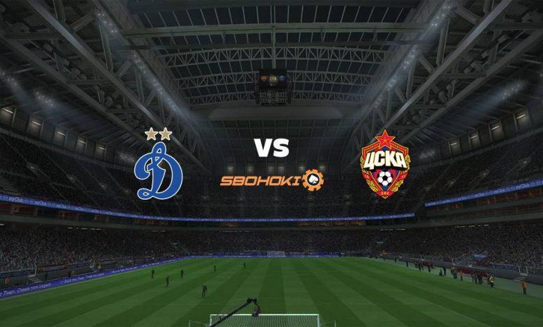 Live Streaming  Dinamo Moscow vs CSKA Moscow 8 Agustus 2021 1