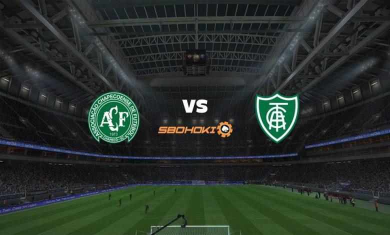 Live Streaming  Chapecoense vs América-MG 16 Agustus 2021 1
