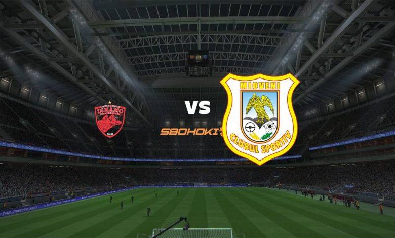 Live Streaming  Dinamo Bucuresti vs CS Mioveni 16 Agustus 2021 1