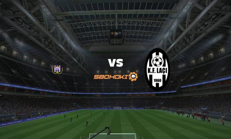 Live Streaming  Anderlecht vs KF Laci 12 Agustus 2021 1