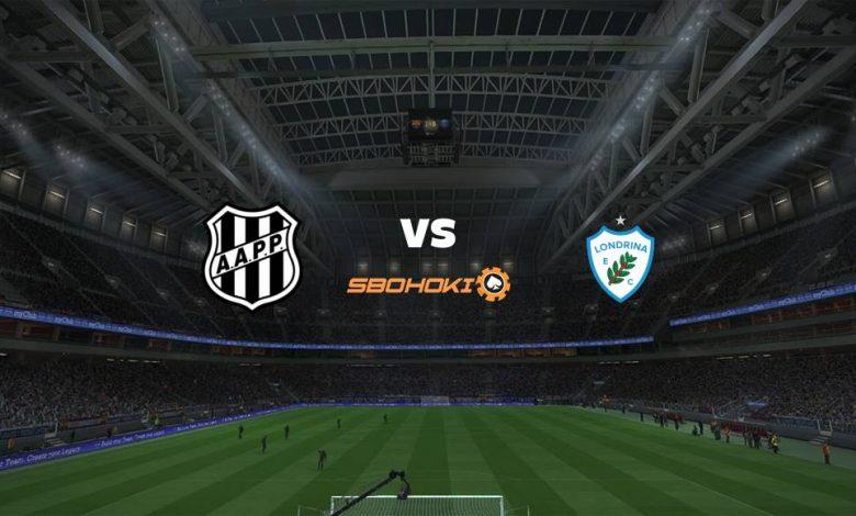 Live Streaming  Ponte Preta vs Londrina 11 Agustus 2021 1