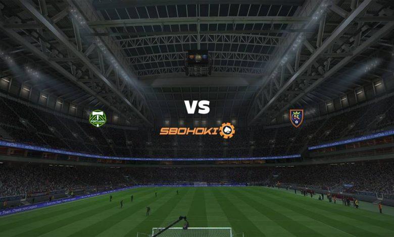 Live Streaming  Portland Timbers vs Real Salt Lake 8 Agustus 2021 1