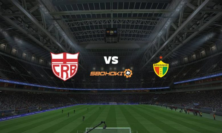 Live Streaming  CRB vs Brusque 12 Agustus 2021 1