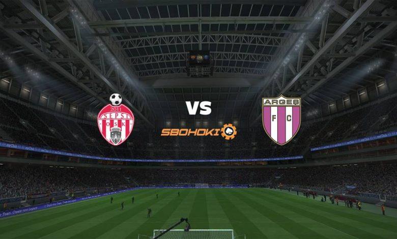 Live Streaming  Sepsi Sfantu Gheorghe vs FC Arges 15 Agustus 2021 1