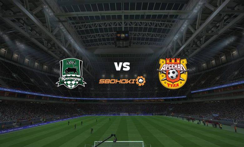 Live Streaming  Krasnodar vs FC Arsenal Tula 15 Agustus 2021 1