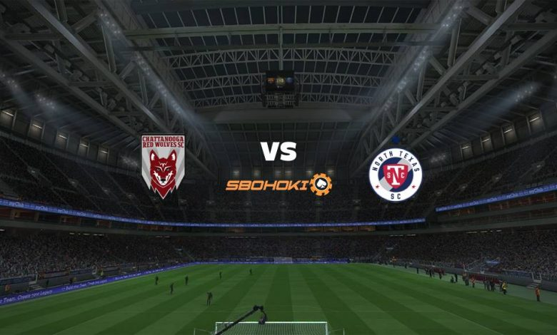 Live Streaming  Chattanooga Red Wolves vs North Texas SC 17 Agustus 2021 1