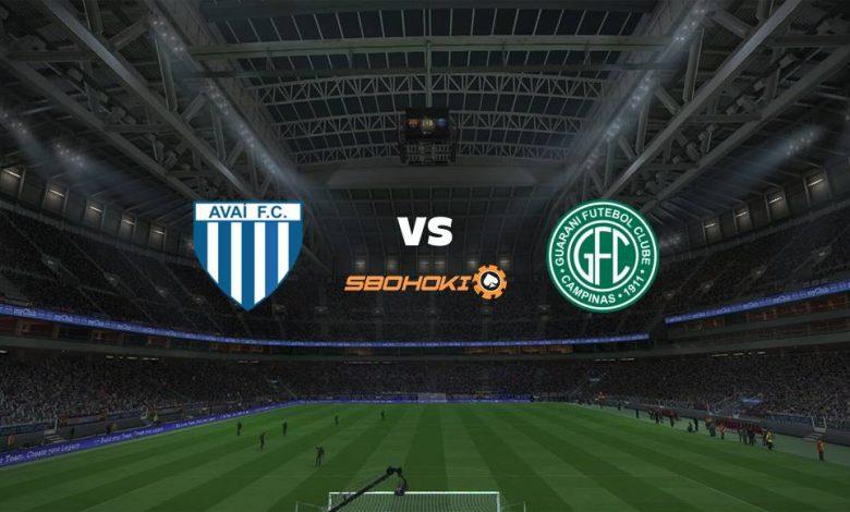 Live Streaming  Avaí vs Guarani 10 Agustus 2021 1