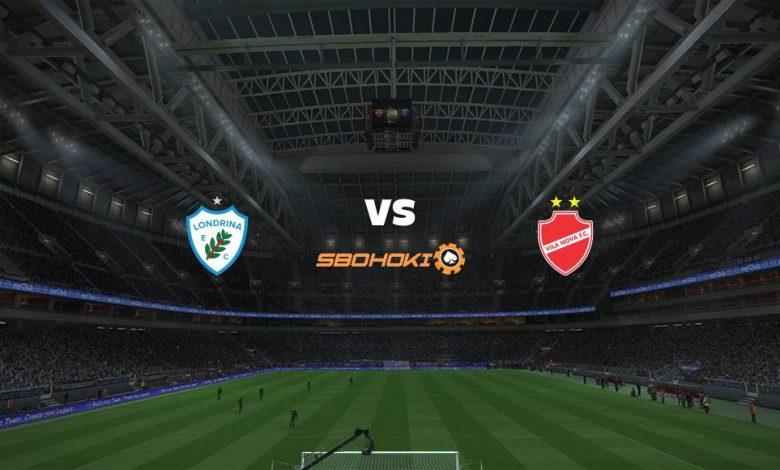 Live Streaming  Londrina vs Vila Nova-GO 15 Agustus 2021 1