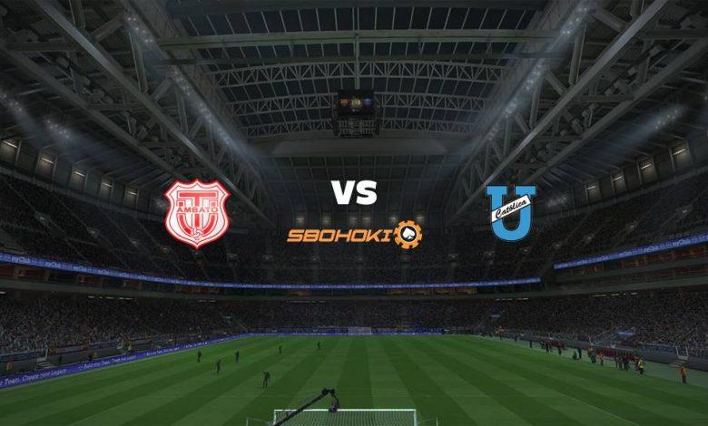 Live Streaming  Técnico Universitario vs Universidad Católica (Quito) 14 Agustus 2021 1