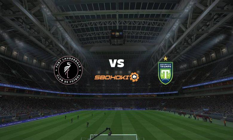 Live Streaming  Fort Lauderdale CF vs Greenville Triumph 15 Agustus 2021 1