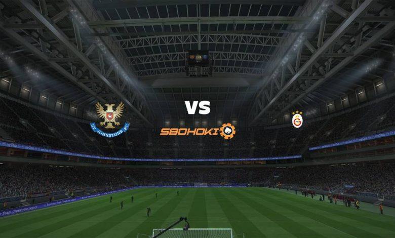Live Streaming  St Johnstone vs Galatasaray 12 Agustus 2021 1