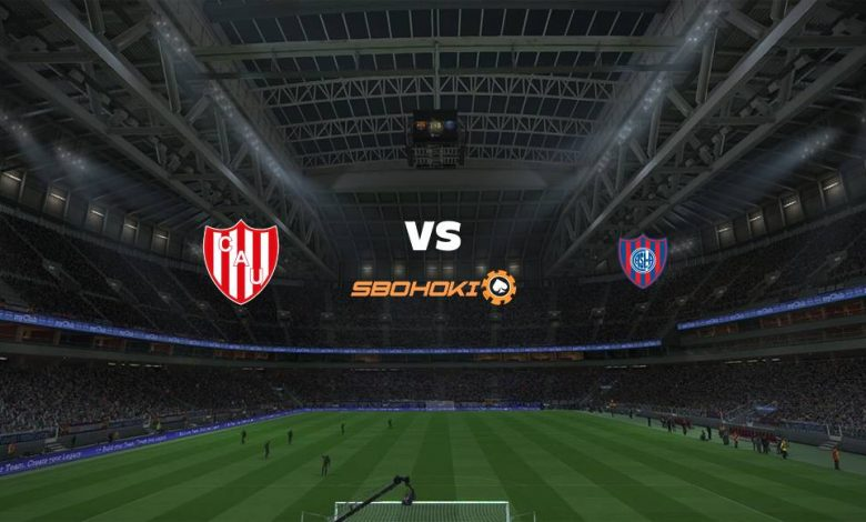 Live Streaming  Unión (Santa Fe) vs San Lorenzo 7 Agustus 2021 1