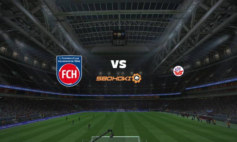 Live Streaming  1. FC Heidenheim vs Hansa Rostock 15 Agustus 2021 1