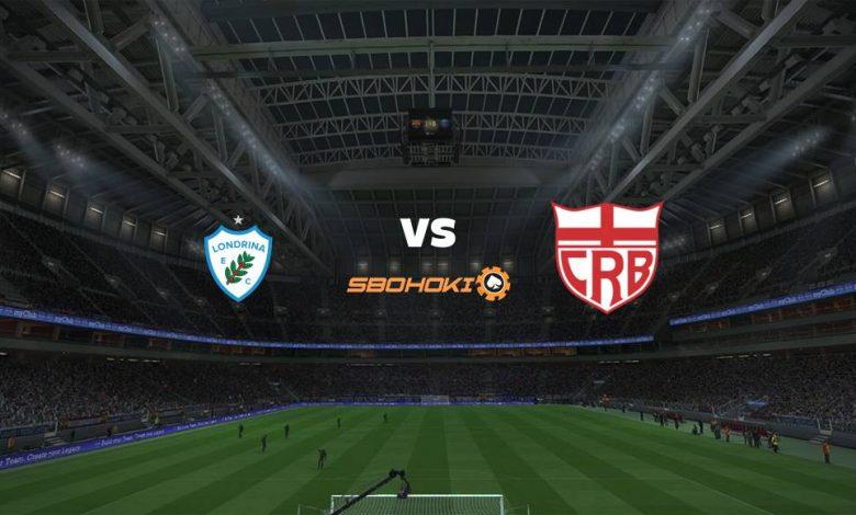 Live Streaming  Londrina vs CRB 8 Agustus 2021 1