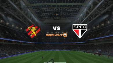 Photo of Live Streaming  Sport vs São Paulo 22 Agustus 2021