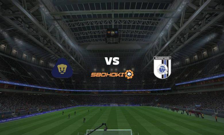 Live Streaming  Pumas UNAM vs Querétaro 14 Agustus 2021 1