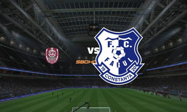 Live Streaming  CFR Cluj-Napoca vs FC Farul Constanta 13 Agustus 2021 1
