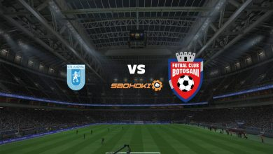 Photo of Live Streaming  Universitatea Craiova vs FC Botosani 1 Agustus 2021