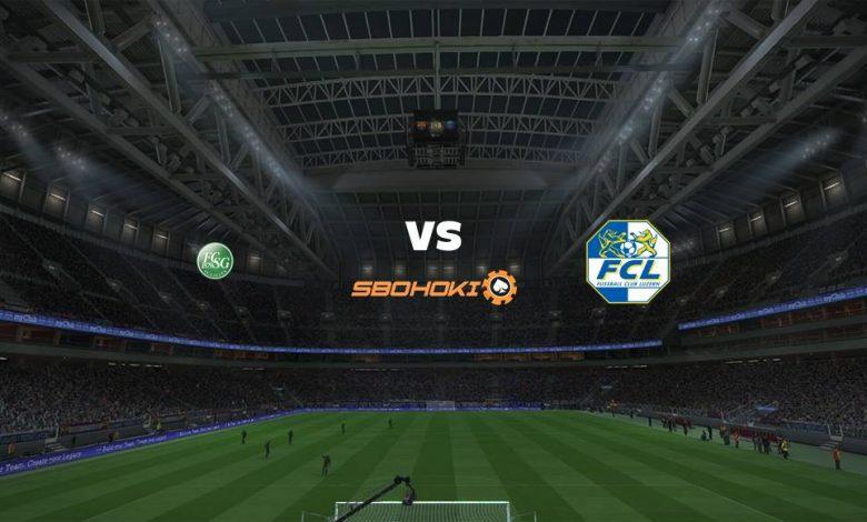 Live Streaming  St Gallen vs FC Luzern 1 Agustus 2021 1