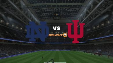 Photo of Live Streaming  Notre Dame vs Indiana 27 Agustus 2021