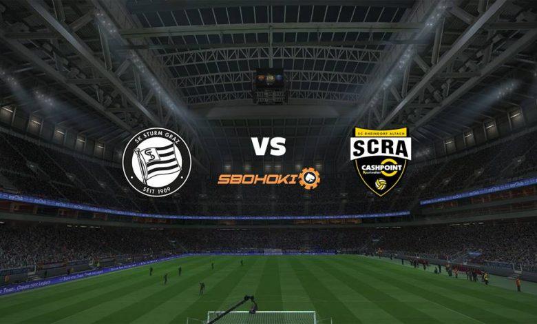 Live Streaming  SK Sturm Graz vs SC Rheindorf Altach 7 Agustus 2021 1