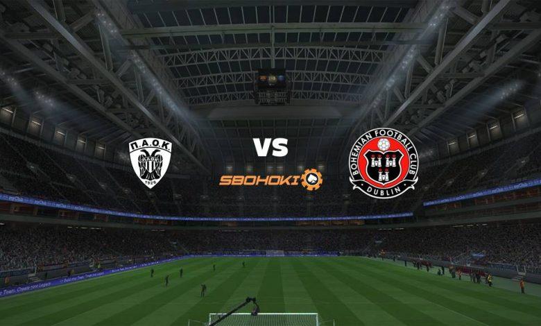 Live Streaming  PAOK Salonika vs Bohemians 12 Agustus 2021 1