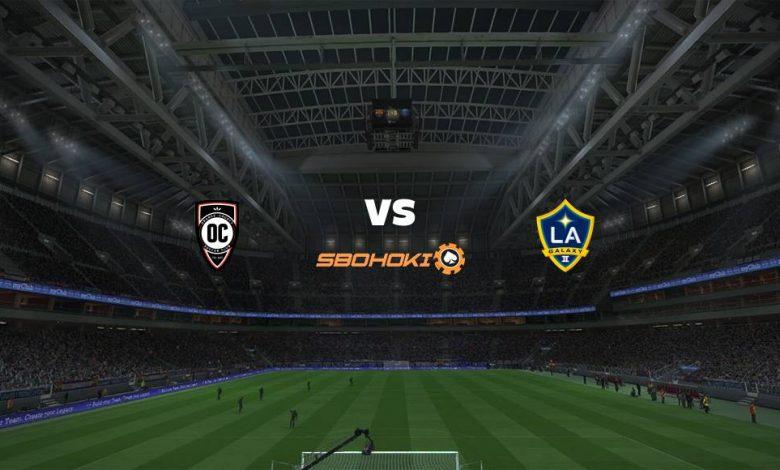 Live Streaming  Orange County SC vs LA Galaxy II 8 Agustus 2021 1