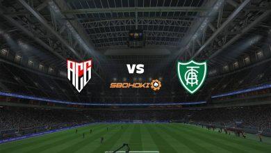 Photo of Live Streaming  Atlético-GO vs América-MG 1 Agustus 2021