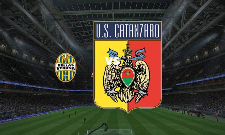 Live Streaming  Hellas Verona vs Catanzaro 14 Agustus 2021 1