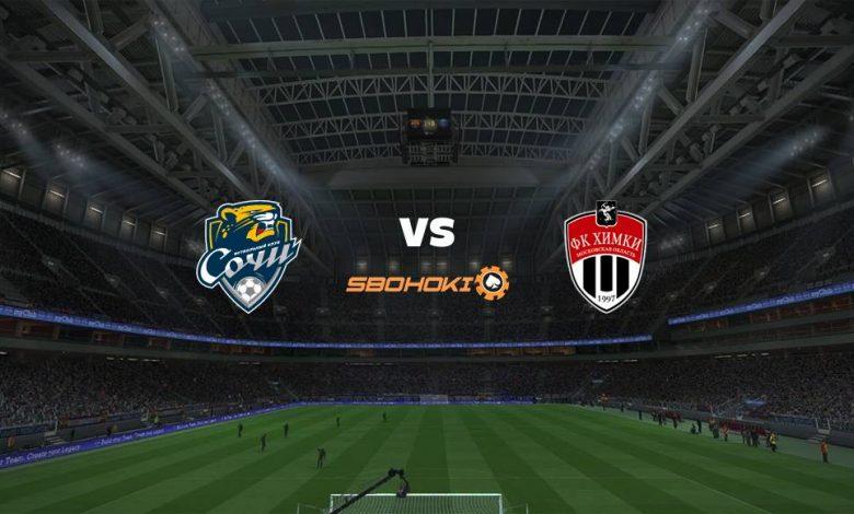 Live Streaming  Sochi vs FC Khimki 16 Agustus 2021 1