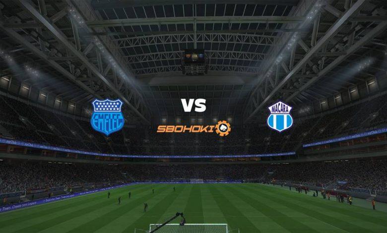 Live Streaming  Emelec vs Macará 15 Agustus 2021 1