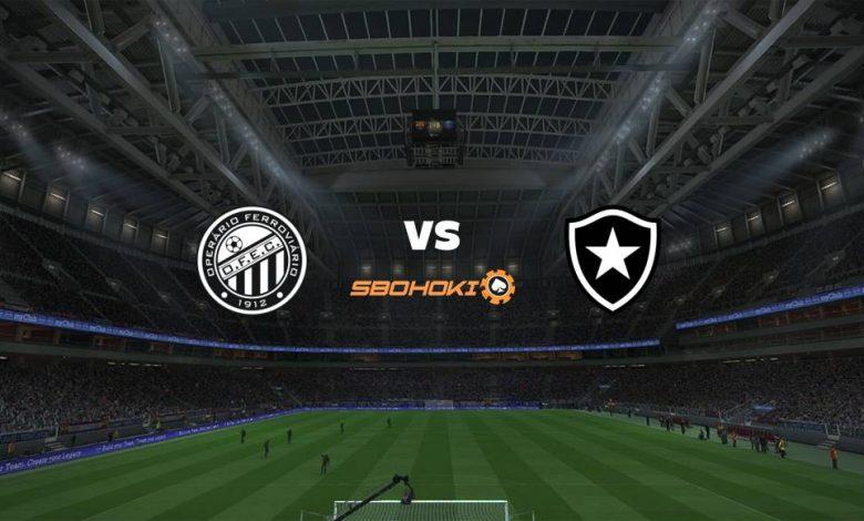 Live Streaming  Operario PR vs Botafogo 13 Agustus 2021 1