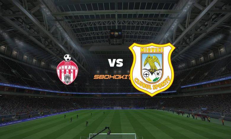 Live Streaming  Sepsi Sfantu Gheorghe vs CS Mioveni 2 Agustus 2021 1