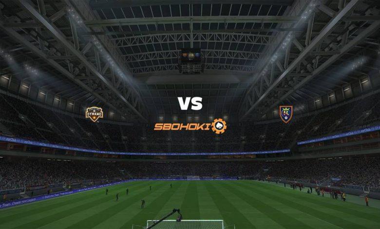 Live Streaming  Houston Dynamo vs Real Salt Lake 1 Agustus 2021 1
