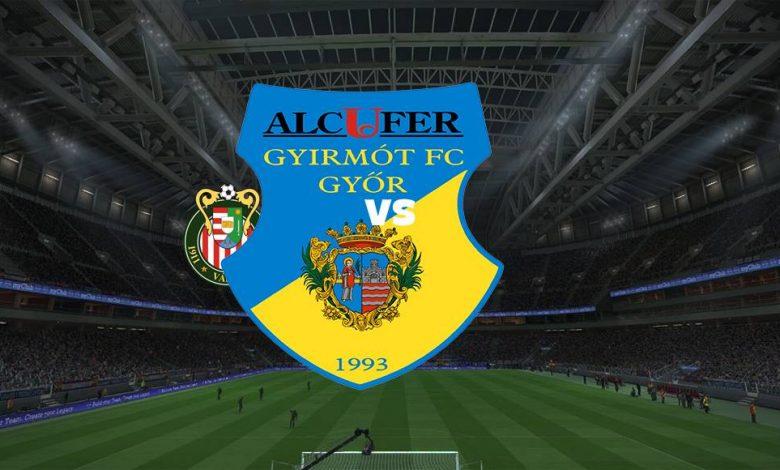 Live Streaming  Kisvarda FC vs Gyirmot FC Gyor 6 Agustus 2021 1